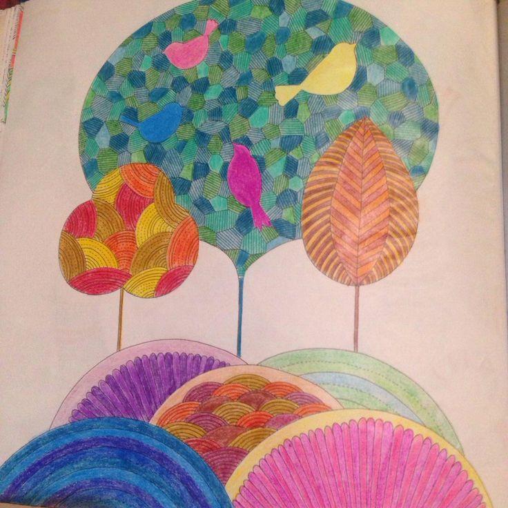 Animal Kingdom Tree Millie Marotta Coloring BooksColouringAnimal KingdomMindfulTropicalVintage