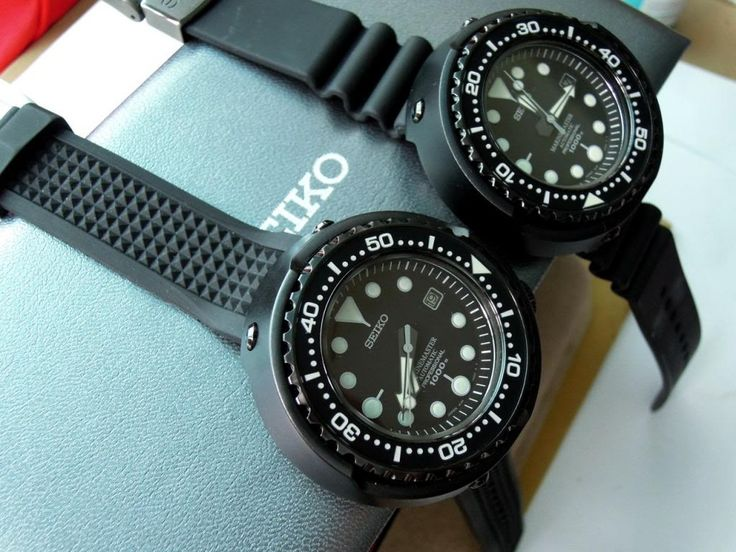 24 best images about seiko tuna sbbn015 on pinterest for Nice watch for boyfriend