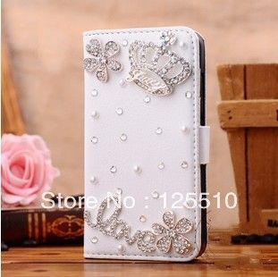 Aliexpress.com : Buy 2013 Fashion Luxury Pearl Diamonds Crystal Crown Leather Case for iphone 5/5s handcrafted case from Reliable crystal iphone 3g cases suppliers on Skytech Global Technology INC. $8.99