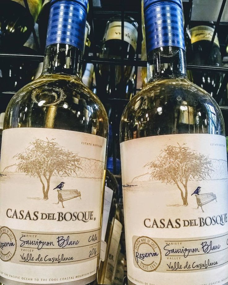 The sub-$20 Casas del Bosque Reserva Sauvignon Blanc is an excellent representation of Chilean wine. A strong mineral backbone with fresh acidity and citrus zest flavors add complexity. Follow the link on our profile bio and check out a video explaining how the unique soil at the vineyard produces such great wine.