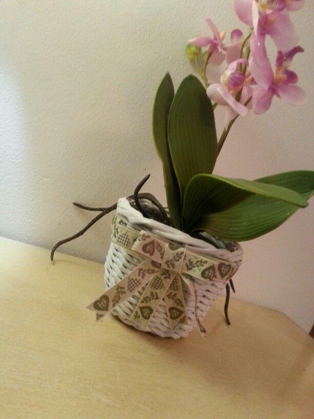 Cestino handmade Gira e Rigira