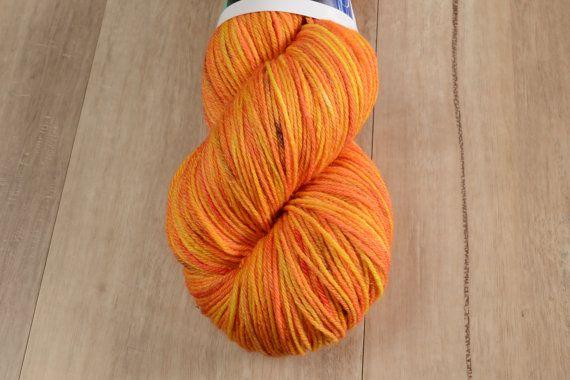 Sunshine in My Pocket  4 Ply Australian Sock Yarn Hand Dyed