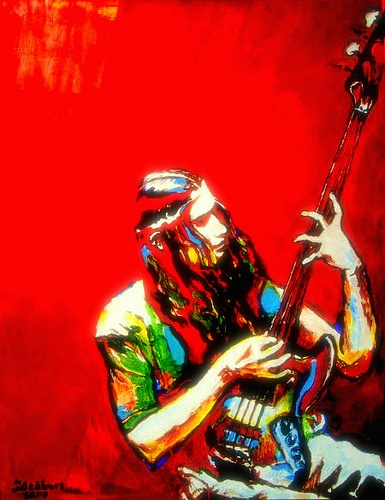 Jaco Pastorius by caino, via Flickr