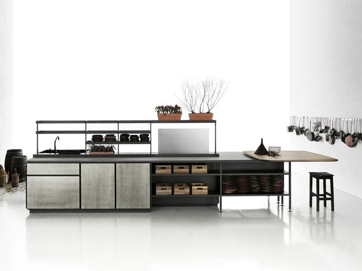 Kataloge zum Download und Preisliste für Salinas By boffi, küche mit kücheninsel Design Patricia Urquiola