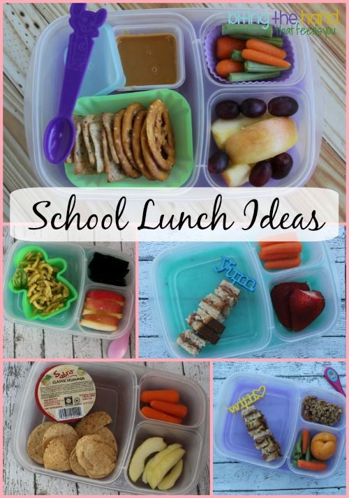 Kid-Friendly School Lunch Ideas! | with #EasyLunchboxes containers