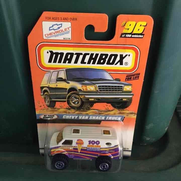 Cool item: Matchbox Chevy van snack truck 1:64