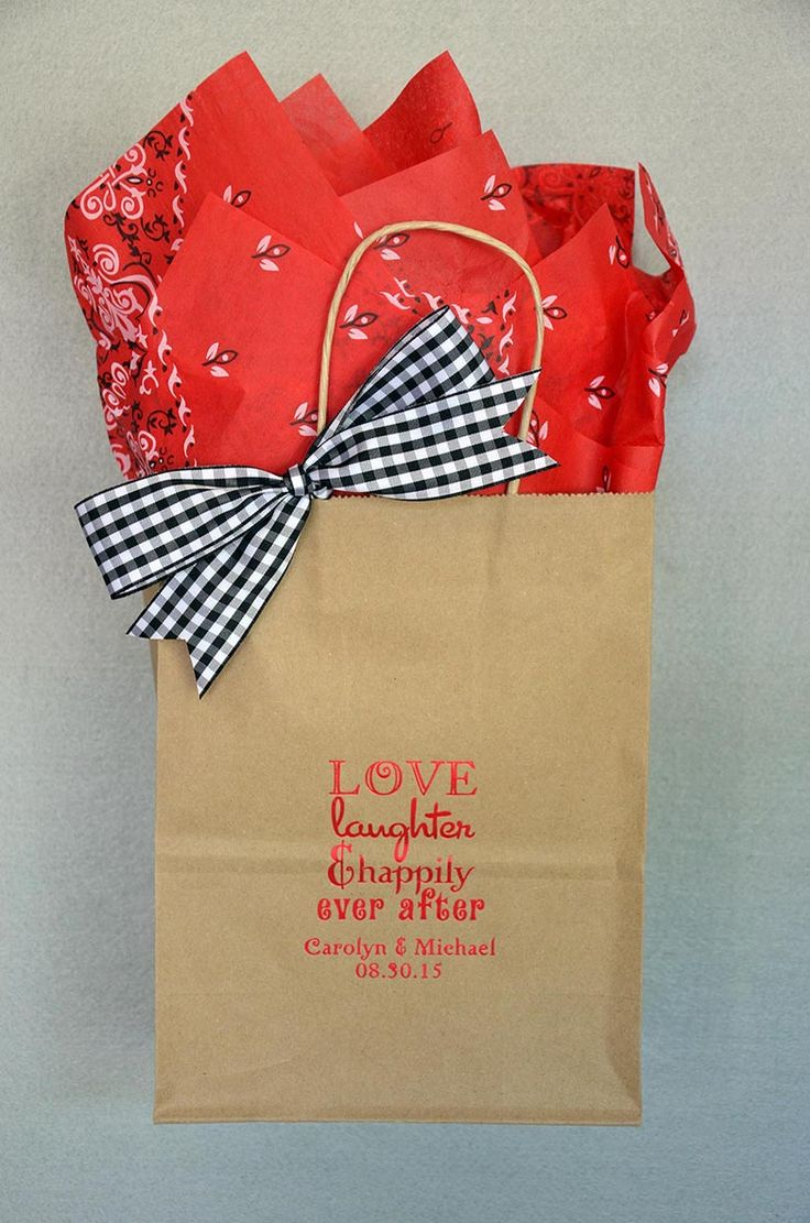 17 best Wedding welcome bags images on Pinterest | Marriage ...