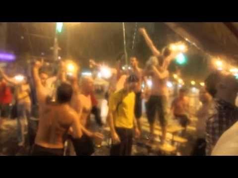Euro 2012: ENGLAND  & SWEDEN FANS GO HEAD TO HEAD