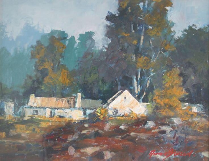Anton Benzon - South African Impressionist