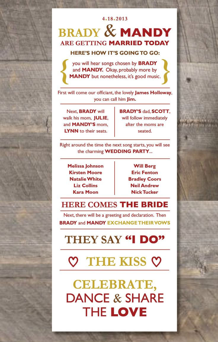 best wedding programs images on pinterest bridal invitations