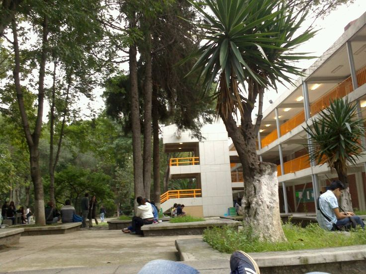 "Escuela Nacional Preparatoria N° 5 ""Jose Vasconcelos"" in Tlalpan, Distrito Federal"