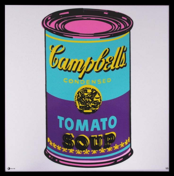 Lot 9, Andy Warhol - Campbell's Soup