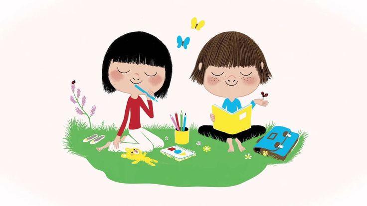Les arènes présentent une méditation en vidéo pour les enfants (à partir de 00:20 secondes).Méditer, c'est entraîner le muscle de son attention. On peut se servir de la respiration, mais aussi des bruits qui nous entourent, par exemple le bruit de la pluie.C'est à cet exercice que Susan Kaiser Gr...