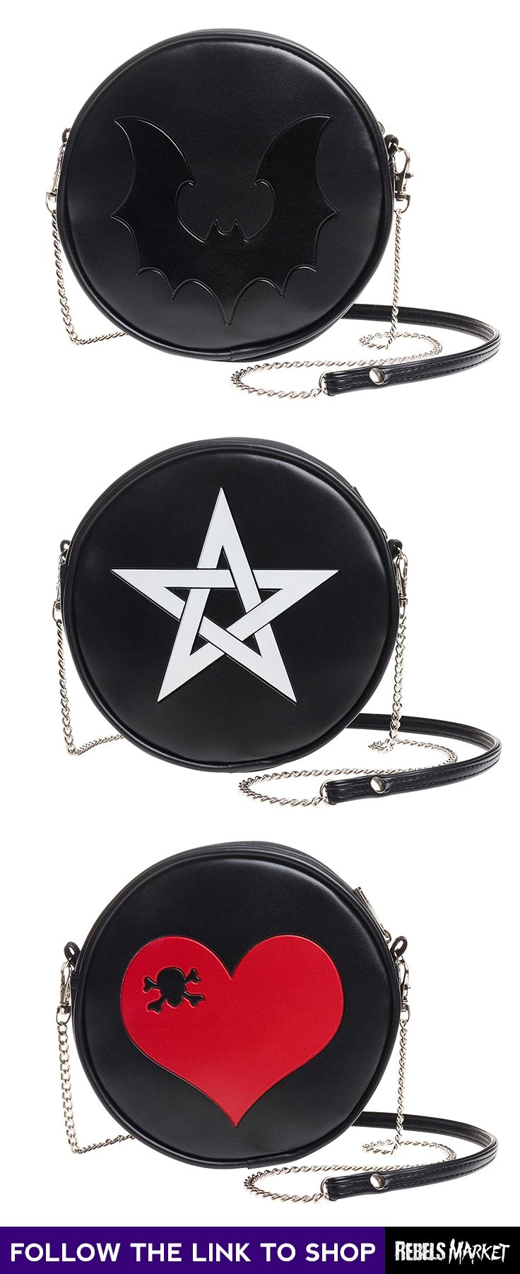 Shop gothic bags online at RebelsMarket.