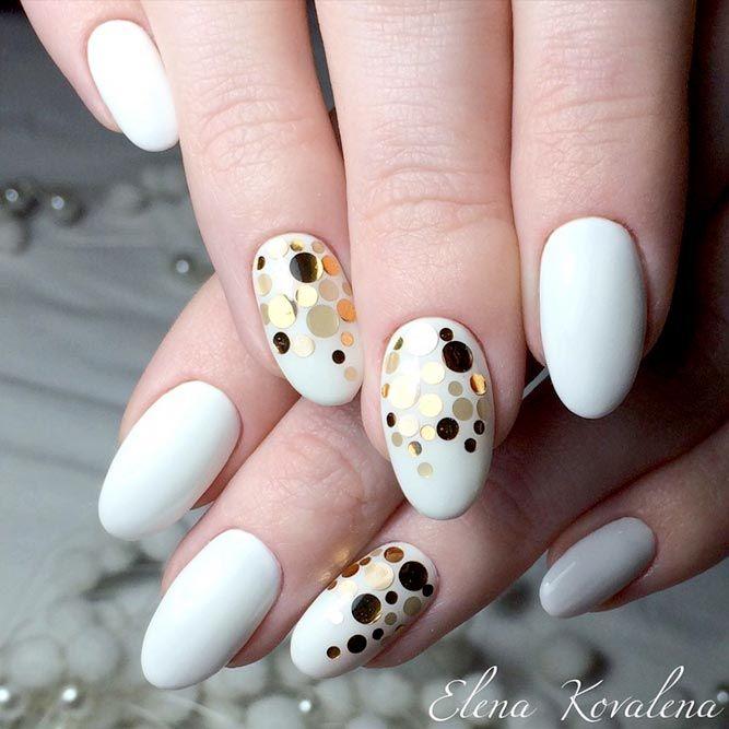 The 25+ best Round nail designs ideas on Pinterest | Elegant nails, Xmas  nails and Red nails - The 25+ Best Round Nail Designs Ideas On Pinterest Elegant Nails