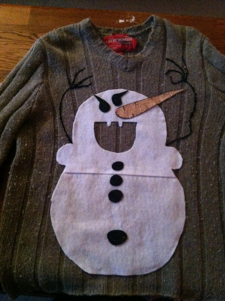 Ugly Christmas Sweater Decorations