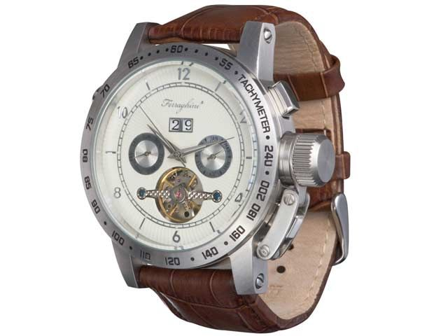 Ferraghini-Gents kinetic Wrist Watch With interchangable straps. at Wrist Watches | Ignition Marketing Corporate Gifts