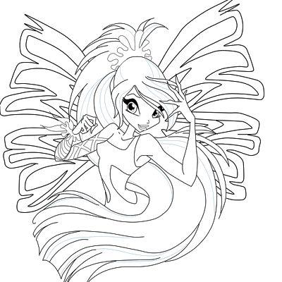 Winx Club Friends Dibujos Para Colorear Winx Club Sirenix