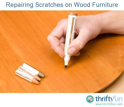 This is a guide about repairing scratches on wood furniture. It is very dismaying to discover scratches on your wood furniture.