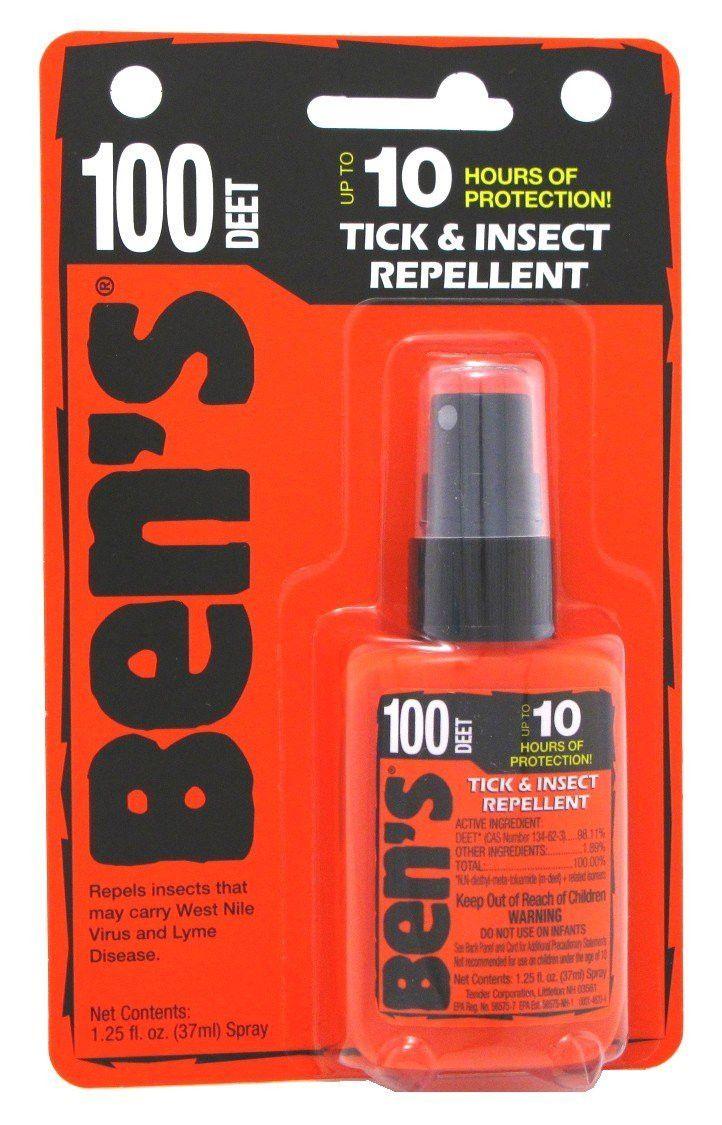 Natrapel Bens 0006-7070 100 Deet Tick & Insect Repellent Spray, 6-Pack