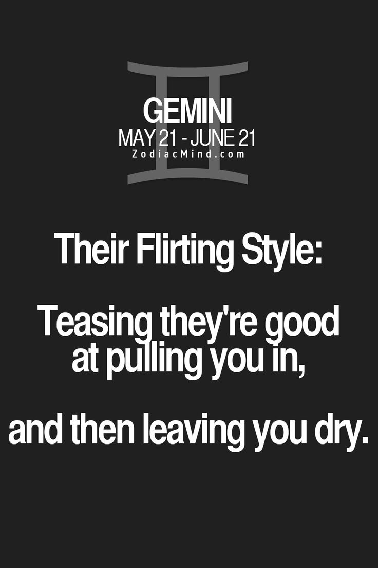 "zodiacmind: ""The sign's flirting style here """