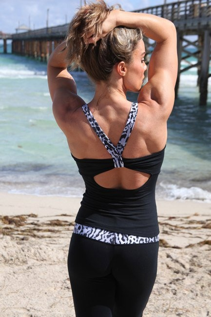 Show off your hard work with this sexy tank..Love it!  www.brazilactiv.com.au