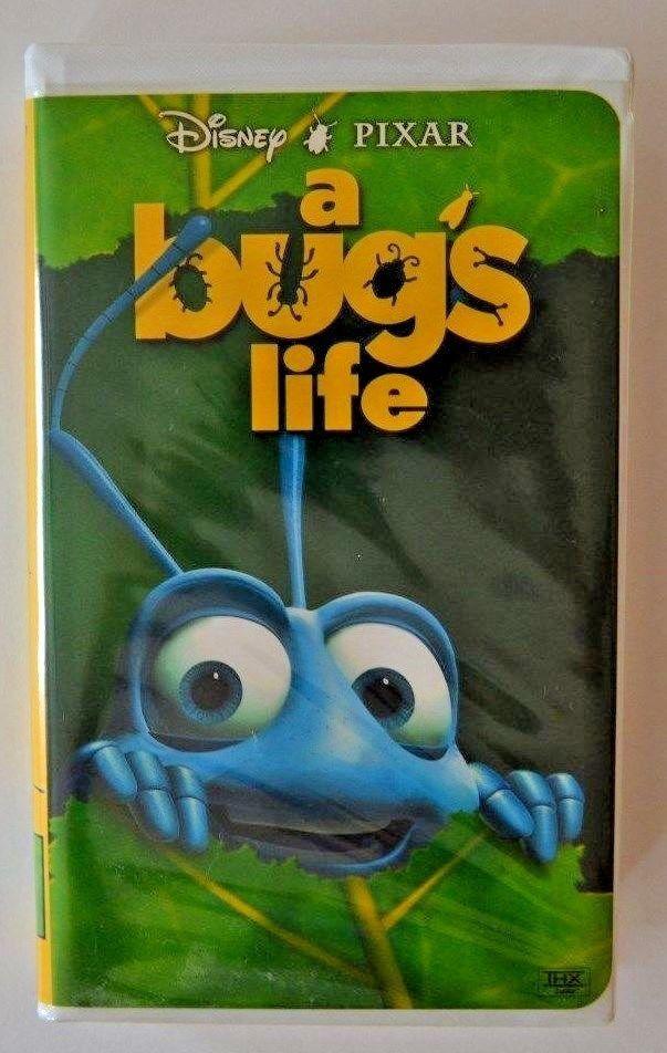 Vhs Movie A Bugs Life 1999 Pixar Disney Movie Clamshell Case 786936088250 Ebay Vhs Movie Disney Movies Vhs
