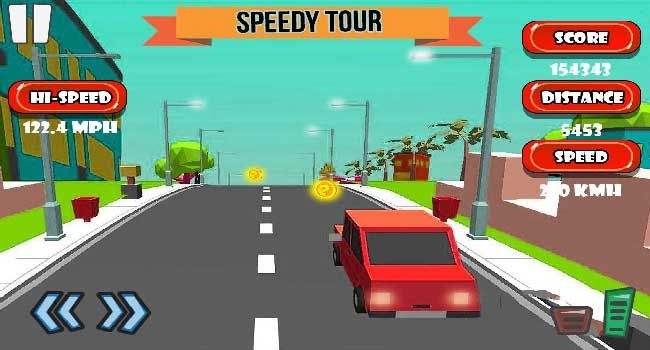 Enjoy The New Endless Mini Planet Highway Racer Game A Fun With Arcade Racing Game In Which You Have To Drive Your Car On Highw Planets Highway Traffic Racer