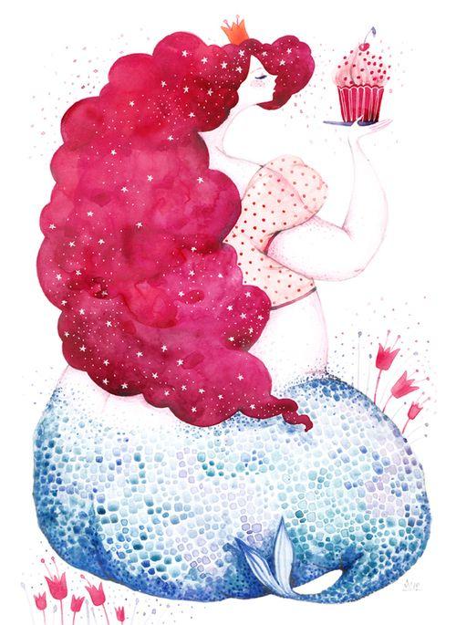 .cake & eat it too -)-)/// mermaid