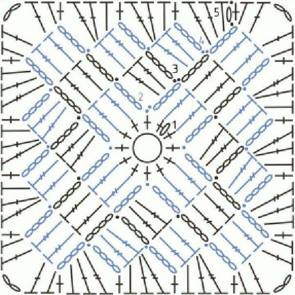 5780 best Cuadros Crochet images on Pinterest | Crochet motif ...