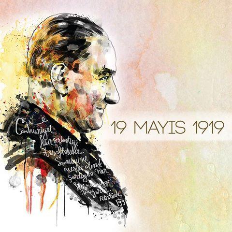 19 Mayıs Atatürk'ü Anma Gençlik ve Spor Bayramı'nı, Soma'da meydana gelen maden faciası nedeniyle buruk karşılıyoruz...