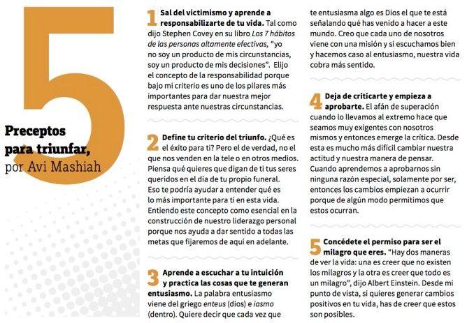 🔊 5 Preceptos para triunfar por Avi Mashiah - Coach, Trainer, Speaker para la Discapacidad 🤓¡Ya puedes leer el reportaje completo! ♿ Revista de la Fundación Grupo SIFU - Somos Capaces Num #119   #disability #discapacidad #coach #coaching #barcelona #voluntad #perseverancia #valores #limitaciones #autenticidade #coraje