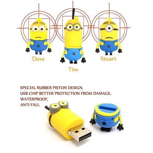 Despicable Me Minions USB Memory Stick -$8 drgrab.com