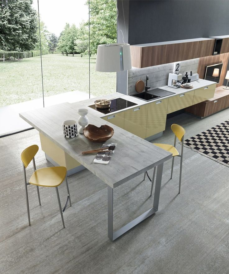 Oltre 25 fantastiche idee su barre di legno su pinterest for Cuisine lineaire design