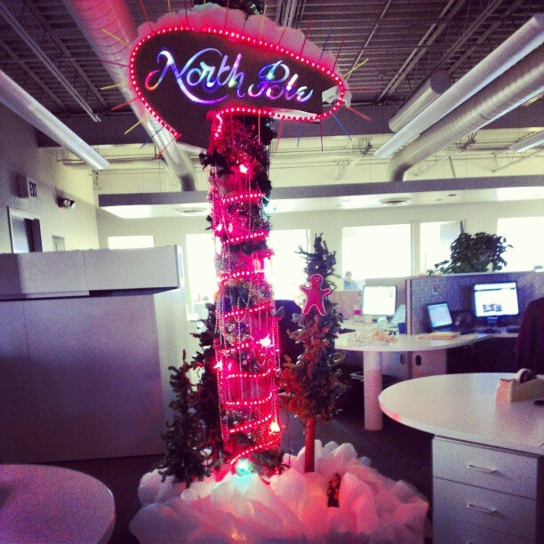 The North Pole Part Of Monigle S Holiday Decorating