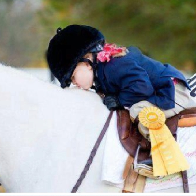 Always thank your horse!
