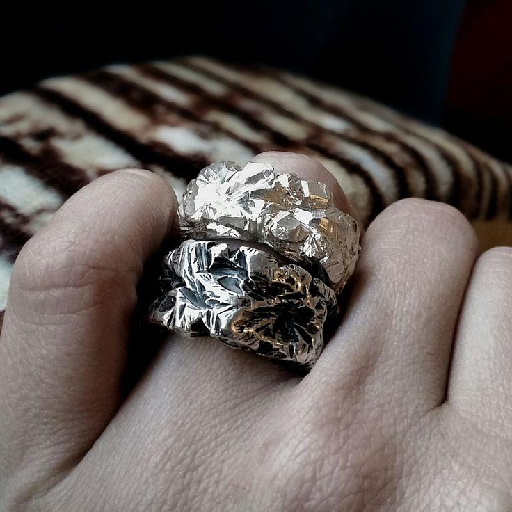 Øld + ne₩ Sterling silver rings by Stephanie Rachael Jewellery