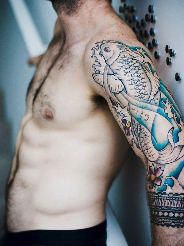 35 Traditional Japanese Koi Fish Tattoo Meaning And Designs True Colors Colorsofkoifish Japanese Koi Fish Tattoo Koi Fish Tattoo Koi Fish Tattoo Meaning
