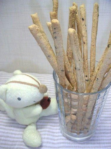Crunchy Okara Pretzel Sticks