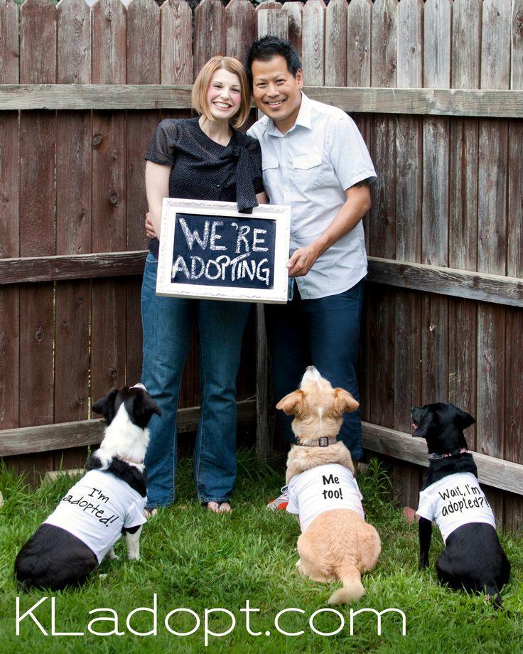 Couple Announces Dog Adoption