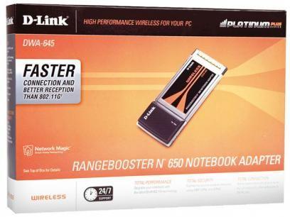 Placa Wireless D-Link DWA-645 PCMCIA - Wireless 802.11N para Notebooks com as melhores condições você encontra no Magazine Jr. Confira!