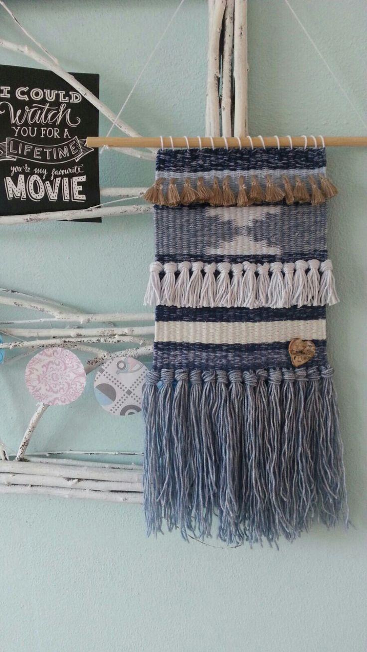 Weven weaving wandhanger wallhanger deco