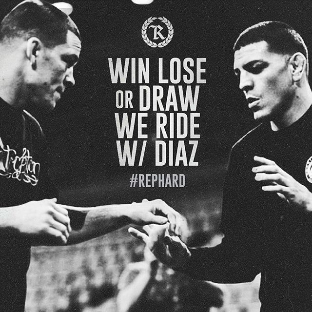 We still ride with DIAZ although the decision didn't go our way. . #thediazshow . #keeprunning