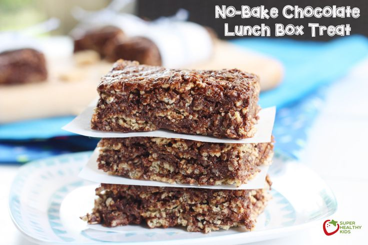 No-Bake Chocolate Lunch Box Treat | Healthy Ideas for Kids