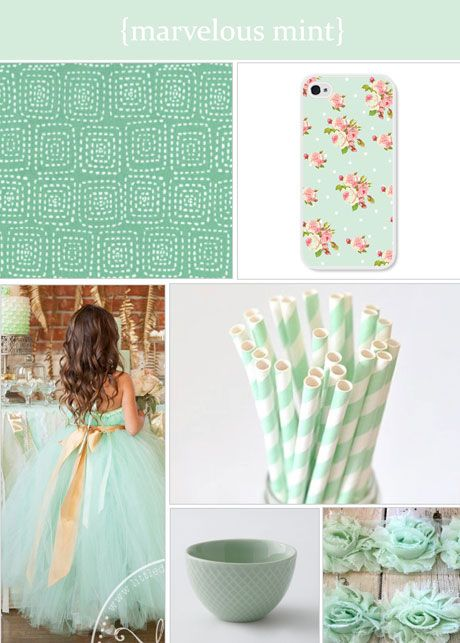Colour palette roundup: marvelous #mintgreen