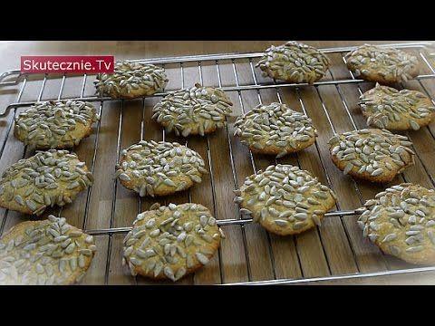 Beztłuszczowe ciastka owsiane z jogurtem i słonecznikiem :: Skutecznie.Tv [HD] - YouTube