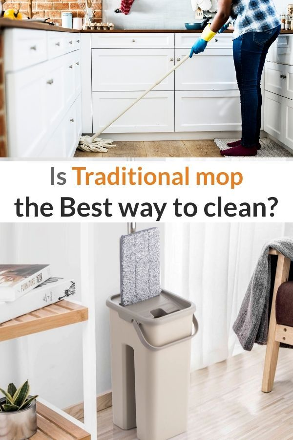 360 Degree Rotation Floor Mop With Easy