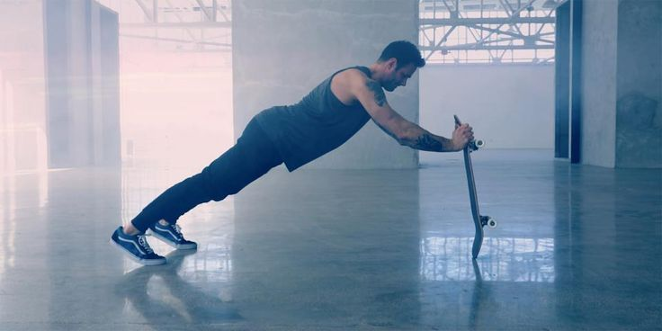 Skateboard Workout