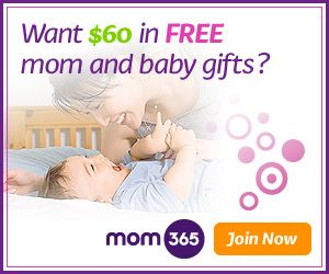 """Join Mom365 today and receive $60 in gifts—$20 gift card from Shutterfly, $20 gift card from Back-buddy.com and a free $20 keepsake from Mom365 Newborn Photography! Plus be entered to win more than $500 in cash and products for you, and above all, get """"What's up with your baby"""", a weekly email all about your baby's development."""