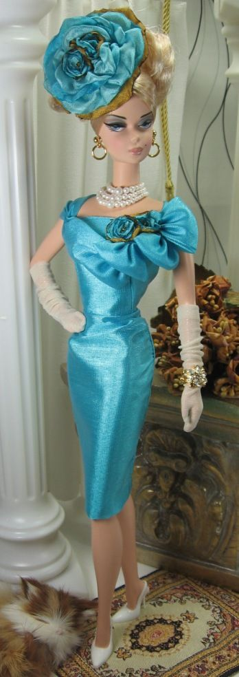 Mesmerizing for Silkstone Barbie on Etsy now